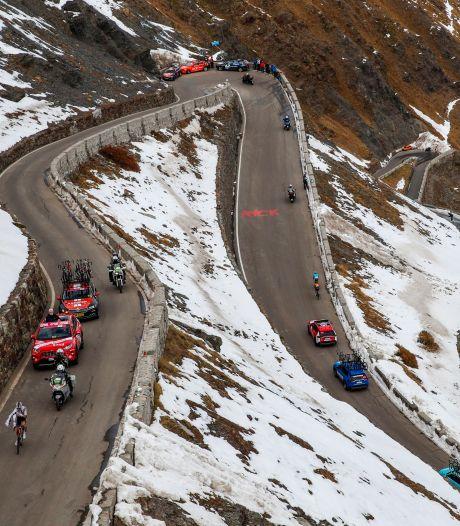 La 19e étape du Giro écourtée après les menaces des coureurs de ne pas prendre le départ
