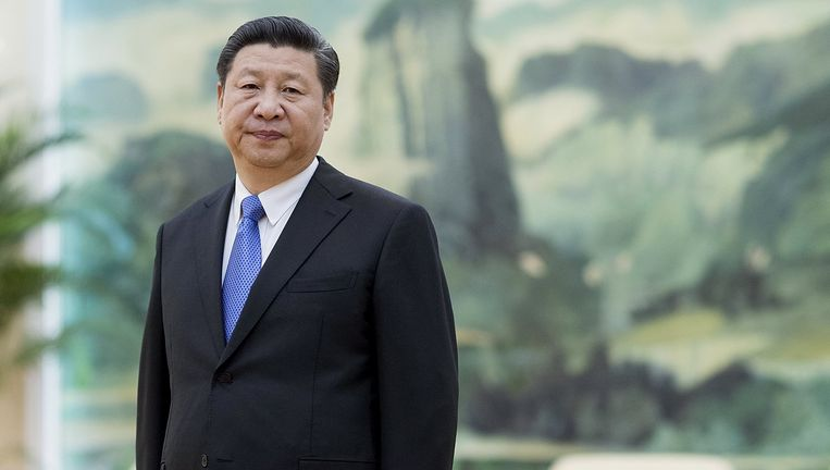 De Chinese president Xi Jinping. Beeld reuters