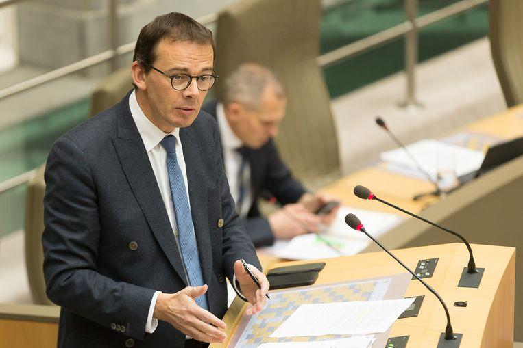 Vlaams minister van Volksgezondheid Wouter Beke.