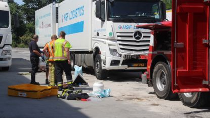 Brandweer ruimt mazout op site LAR op