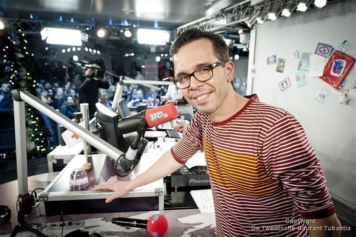 3FM-dj Michiel Veenstra.