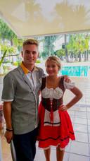 Paula Sengers ontmoette haar vriend Nick Zwaans in een hotel op Mallorca waar ze allebei stage liepen.