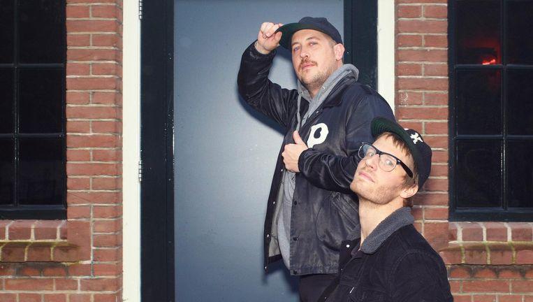 Eric Howk (voor) en Zach Carothers (achter). Beeld Daniel Cohen