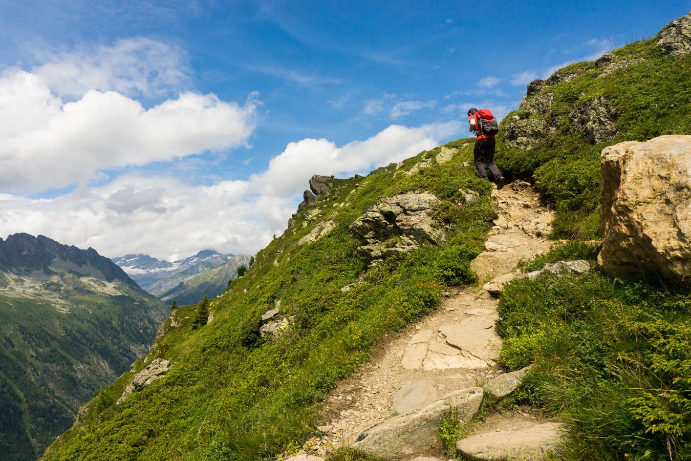 De Aiguilles Rouges staat bekend om zijn mooie wandelpaden. Foto ter illustratie.