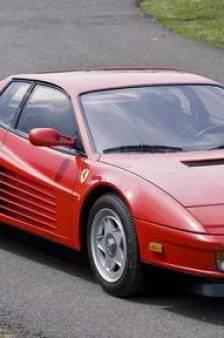 """Ferrari récupère ses droits sur la """"Testarossa"""""""