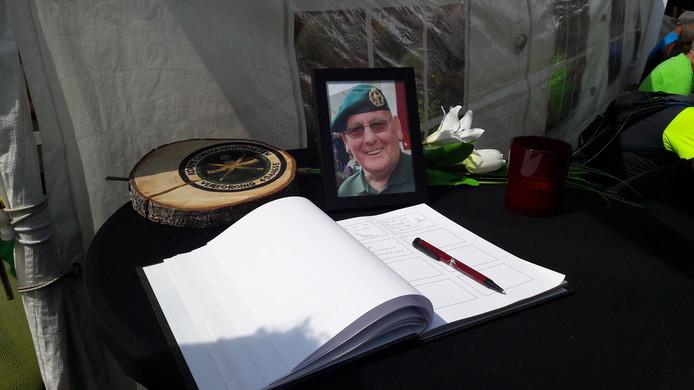 Condoleanceregister voor Ko Drijver.