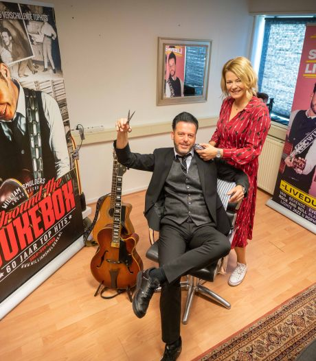 William Smulders uit Groesbeek schoolde zich om: van gitaar naar schaar