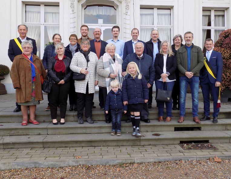 De gouden familie van Hauwe.