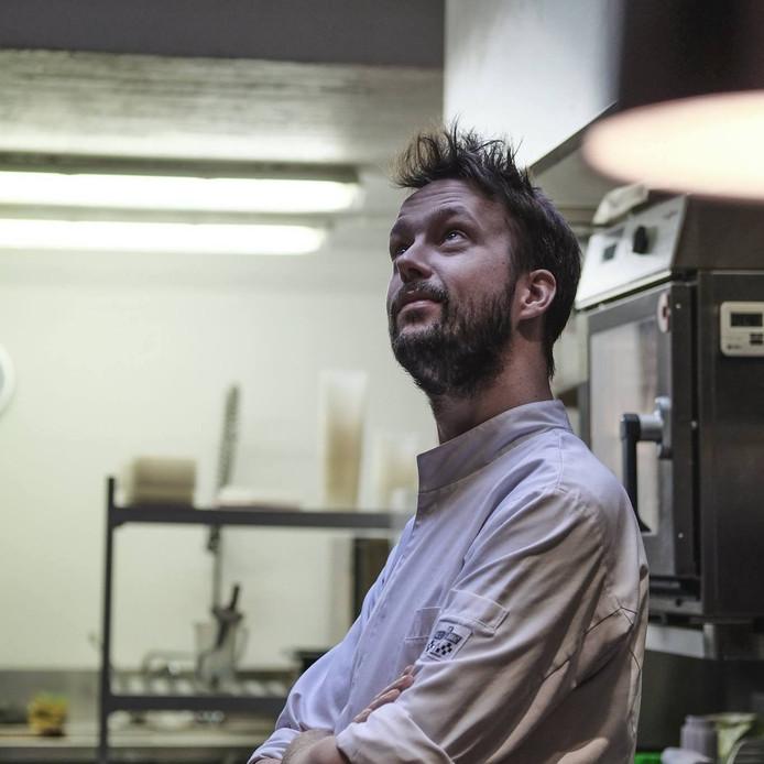 Tom Van Lysebettens, chef en uitbater van restaurant Cochon de Luxe