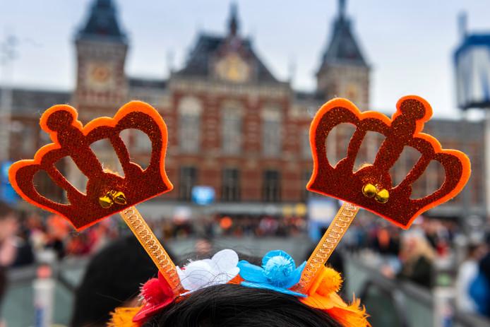 De voorbereidingen voor Koningsdag in Amersfoort zijn in volle gang.