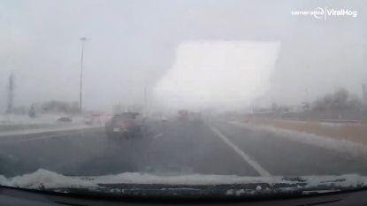 Schokkende video toont waarom je ijs àltijd van je auto moet vegen