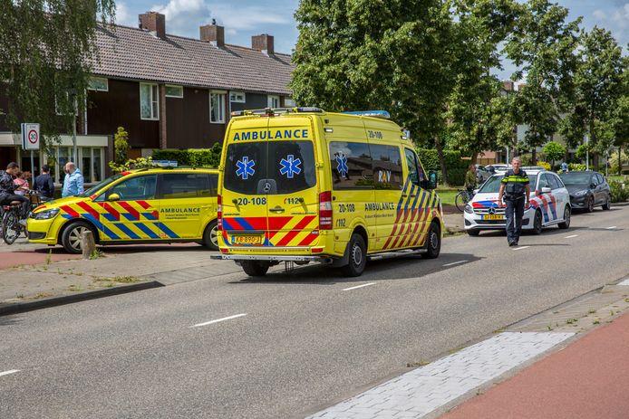 Een jongetje raakte dinsdagmiddag gewond op de President Kennedylaan in Roosendaal.