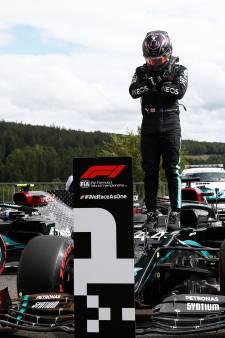 Hamilton en pole à Spa-Francorchamps
