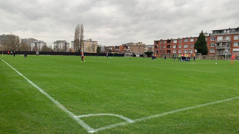 De training van Antwerp.