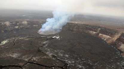 Vulkaan op Hawaï beefde vandaag meer dan 50 keer