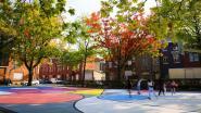 Maasmechelen gaat New York achterna: basketbalpleintjes krijgen kleurrijke ondergrond