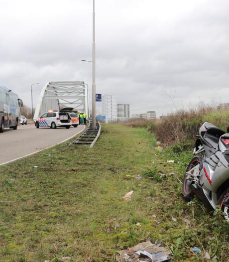Motorrijder gewond bij val op Dominee Martin Luther Kinglaan in Utrecht