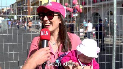 """Wie de Giro gaat winnen? Geen idee. Wat? Hoe heet ie? Nibali?"""