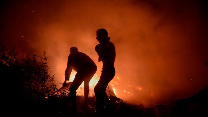 Minstens 37 doden bij bosbranden in Portugal en Spanje