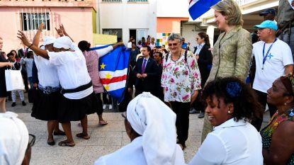Lieve Meersschaert gidst koningin Mathilde in Portugese achterbuurt