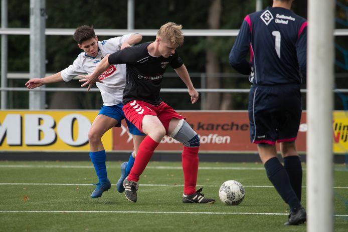 Raalte had het niet makkelijk tegen de ploeg uit Haarle. Met een doelpunt van aanvoerder Luke Wielandt werd het uiteindelijk toch nog gelijk, in de 90ste minuut.