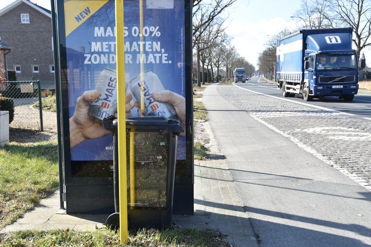Op de Berchemweg reed ruim 28 procent van de gecontroleerde auto's te snel.