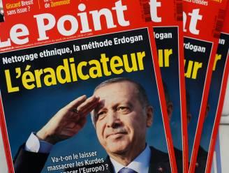 Erdogan dient klacht in tegen tijdschrift dat hem beschuldigt van etnische zuivering