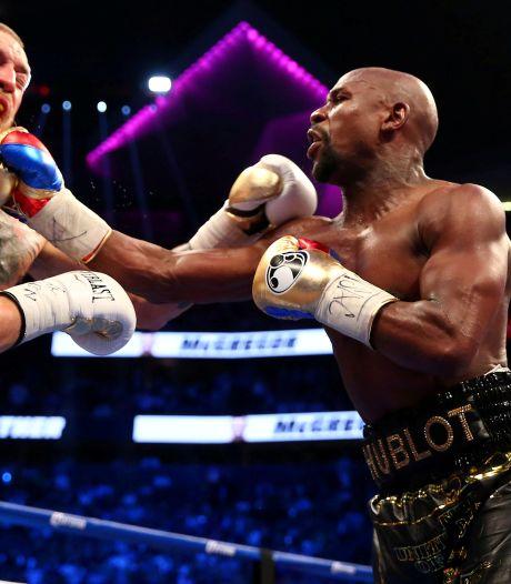 Mayweather haalt uit naar 'McLoser': 'Hij wil weer boksen? Hij wint niet eens in zijn eigen sport'