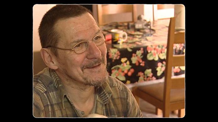 Roger Annys zoals hij er 20 jaar geleden uitzag, op 57-jarige leeftijd.