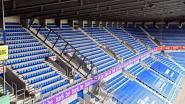 """Ook Luminus Arena is klaar voor terugkeer van supporters: """"Tot 6.000 fans zijn welkom"""""""