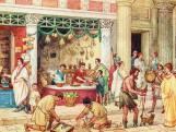 Romeinen leerden ons shoppen: schulden werden op de muren van winkels gekrast
