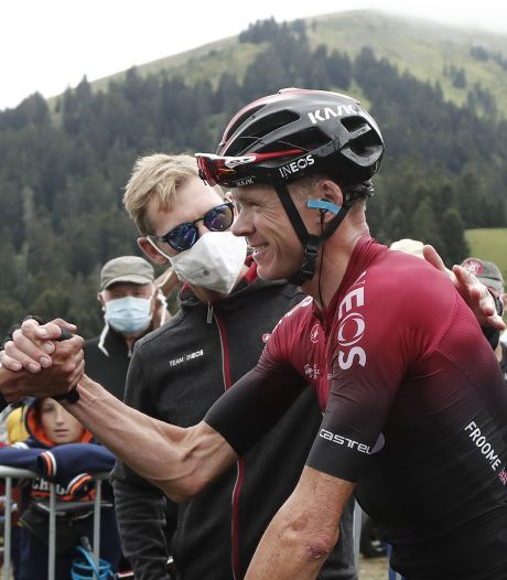 Froome tevreden over rol als 'helper'