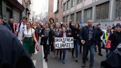 """LIVE. 7.500 klimaatbrossers voor Greta Thunberg in Brussel: """"We blijven staken tot er iets gedaan wordt"""""""