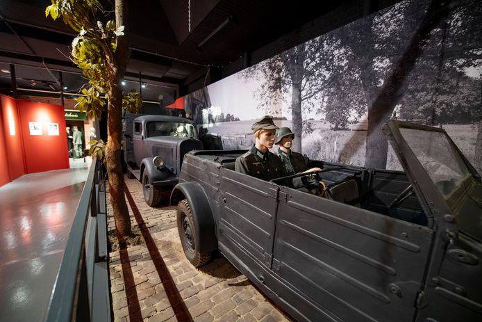 in het Memory Vrijheidsmuseum is de beveiliging opgeschroefd na de reeks overvallen op andere oorlogsmusea.