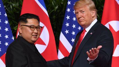 """Trump: """"Noord-Korea zonder kernwapens kan economische macht worden"""""""