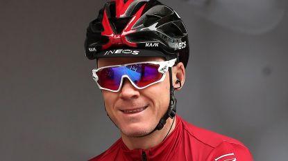 """Froome maakt comeback in UAE Tour na zware val in Dauphiné: """"Kijk hier al maanden naar uit"""""""