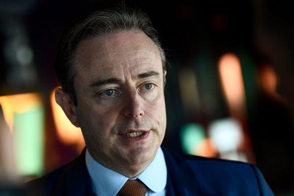 N-VA-voorzitter en Antwerps burgemeester Bart De Wever. Zelf zal hij Anuna De Wever en co niet ontvangen op het Antwerpse stadhuis.