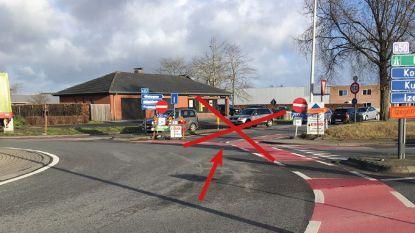 Eenrichtingsverkeer in werfzone Oostrozebekestraat