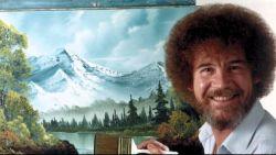"""De schilderende vriend met de afro: """"Een Vlaamse versie van 'The Joy of Painting with Bob Ross' kan Vlaanderen redden van de totale verzuring"""""""