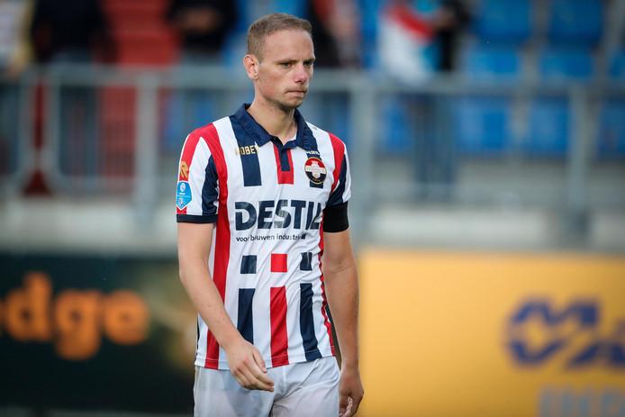 Elmo Lieftink in actie voor Willem II.