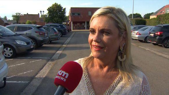 Leentje Verhalle, echtgenote van Kris Van Dijck