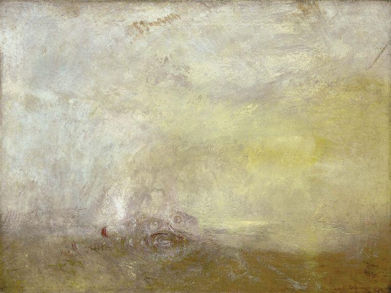 Zonsopgang met monsters (1845) Beeld Tate Britain