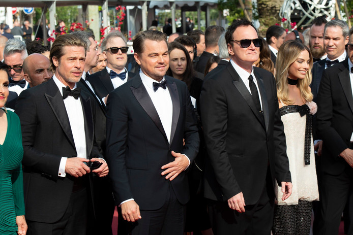 Brad Pitt, Leonardo DiCaprio, Quentin Tarantino