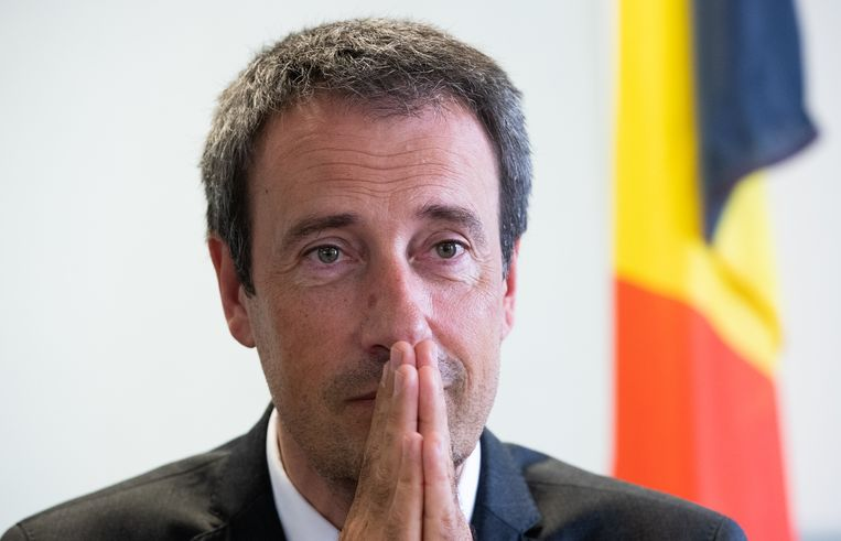 De Belgische minister van Buitenlandse Zaken en Defensie Philippe Goffin (MR)