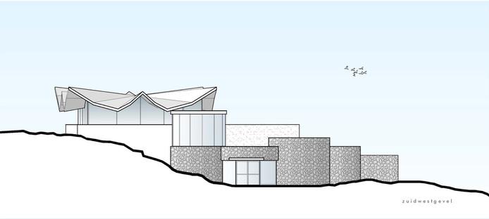 Ontwerp van het nieuwe Marie Tak van Poortvliet Museum