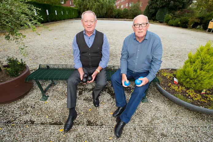 JBC De Goede Worp. Jaap Spaans en Jan van Kampen (R). Den Haag