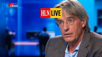 """Herman Goossens: """"We zijn absoluut niet beter gewapend tegen tweede golf"""""""