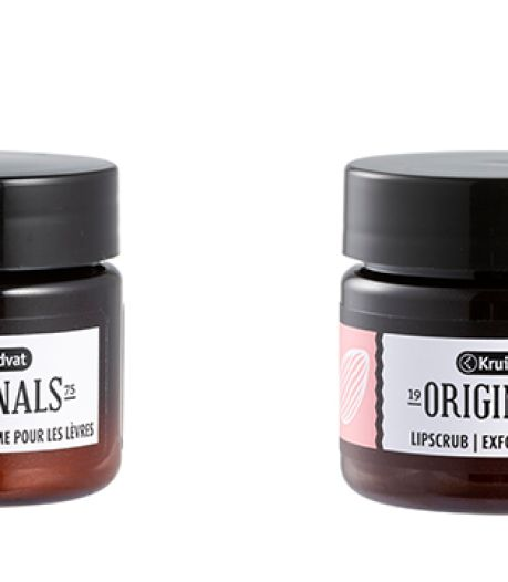 TEST BEAUTÉ: le duo de baume exfoliant et hydratant pour lèvres de Kruidvat