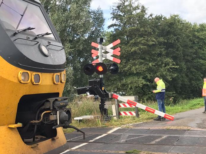 ProRail heeft de spoorboom gerepareerd.