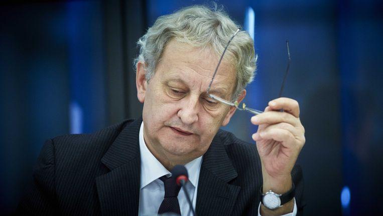 Amsterdam geeft in 2013 en 2014 3,6 miljoen euro uit aan externe inhuur. Afgebeeld: burgemeester Eberhard van der Laan Beeld ANP